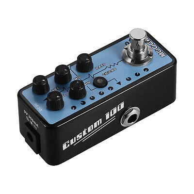 Mooer MICRO PREAMP Series 018 CUSTOM 100 Digital Preamp Preamplifier Guitar K9S5 • 75.56£