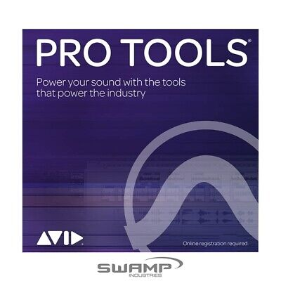 Avid Pro Tools Perpetual Licence - DAW - Fast Electronic Delivery • 440.66£