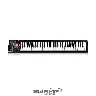 ICON IKeyboard 6X 61 Note USB MIDI Controller Keyboard Semi-Weighted Transport • 160.54£
