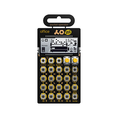 Teenage Engineering PO-24  Office  Pocket Operator *Free Shipping In The USA* • 40.18£