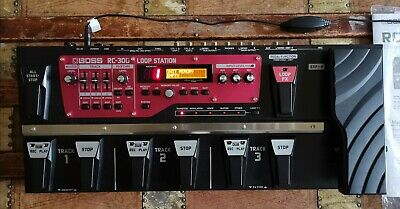 Boss RC-300 Loop Station Looper Pedal - Boxed, Mint Condition • 350£