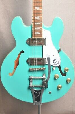 Epiphone Limited Edition Casino With Bigsby Turquoise S N 19041527137 Yokohama • 810.66£