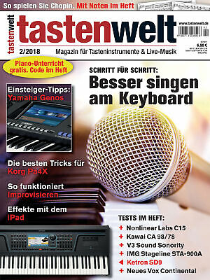 Tastenwelt Step For Step Better Sing At Keyboard/Yamaha Genos Tips • 6.81£