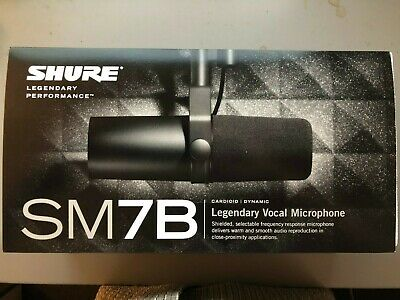 Shure SM7B Microphone And Cloudlifter CL-1 Mic Activator • 397.01£