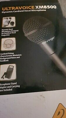 Behringer XM8500 Professional Microphone - Black • 5.55£