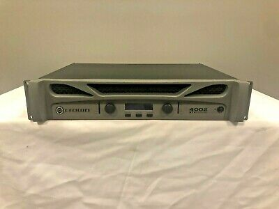 Crown XTi 4002 1200W 2-channel Power Amplifier - Excellent Condition! • 523.29£