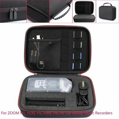 1x Storage Case For ZOOM H1, H2N, H5, H4N, H6, F8, Q8 Handy Music Recorder Cover • 13.62£