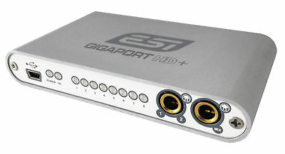 ESI Gigaport HD+ USB 8 Output Audio Interface For DJ's & Producers - Open-Box • 86.45£