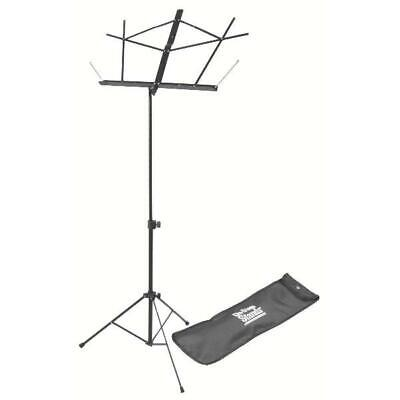 On-Stage SM7122BB Compact Sheet Music Stand (Black, With Bag) • 22.68£