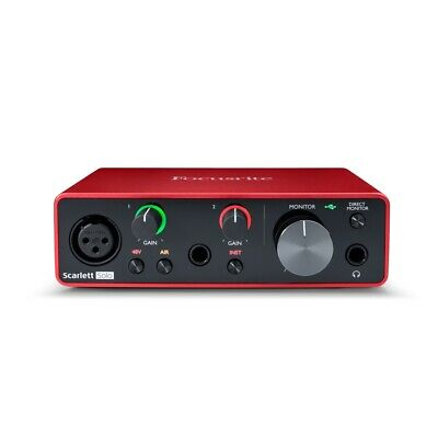 Focusrite Scarlett Solo USB Audio Interface 3rd Gen • 85.43£