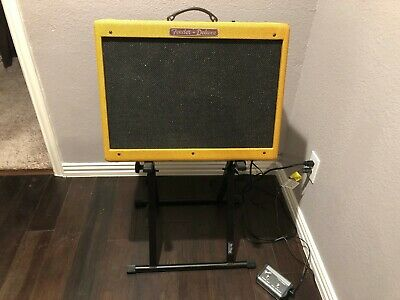 Fender Limited Edition Hot Rod Deluxe IV 40W 1x12 Tube Combo Guitar Amp Tweed • 400.93£
