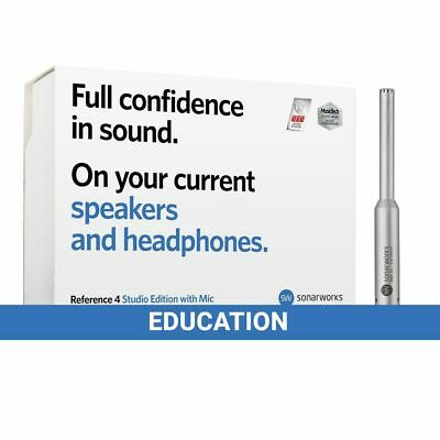 Sonarworks Reference 4 Studio Edition With Mic – Education • 195£