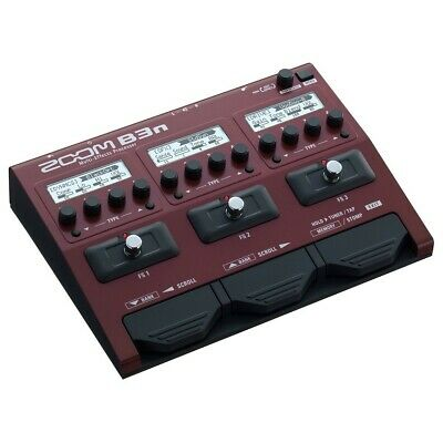 Zoom B3n Bass Multi Effects Pedal • 125£