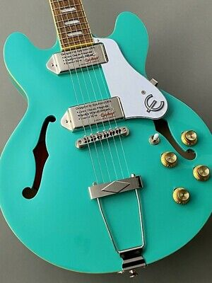 Mint Epiphone Casino Coupe 20021534468 Turquoise • 591.41£