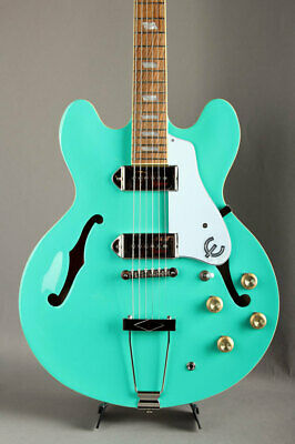 Epiphone Casino Turquoise Electric Guitar • 719.81£