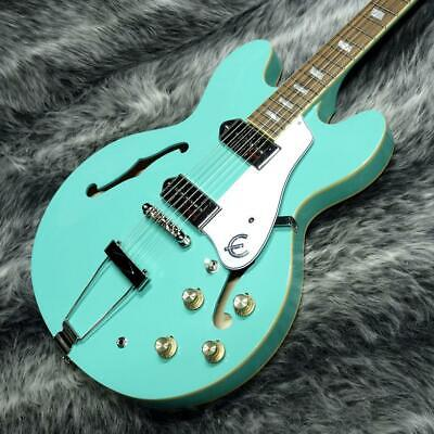 Epiphone Casino Turquoise Electric Guitar 2 • 786.78£