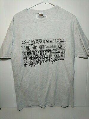 New Roland TB-303 Computer Controlled Gray Large T-shirt • 13.18£