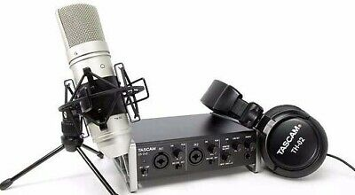 TASCAM Trackpack US-2x2TP Kit Ministudio With Sound Card Microphone And Headset • 235.58£