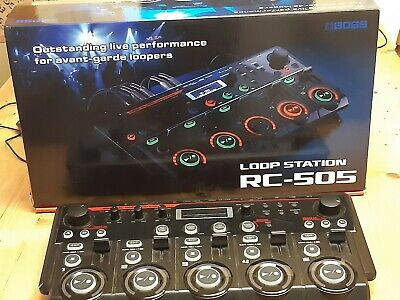 Boss RC-505 Loop Station With Original Box, Manual And Power Cable Used Once • 400£