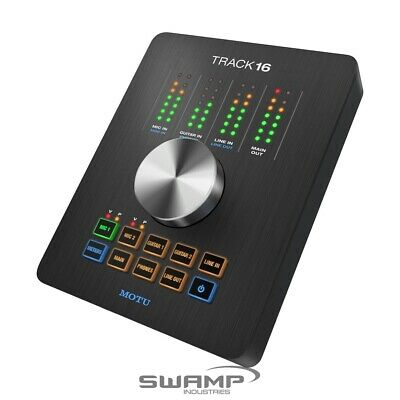 MOTU Track16 | Compact Streamlined One Touch USB 2.0 Audio Interface • 460.50£
