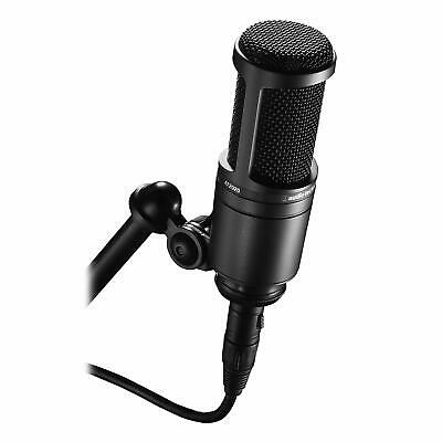 NEW Audio-Technica AT2020 Cardioid Condenser Studio XLR Microphone - SHIPS TODAY • 108.03£