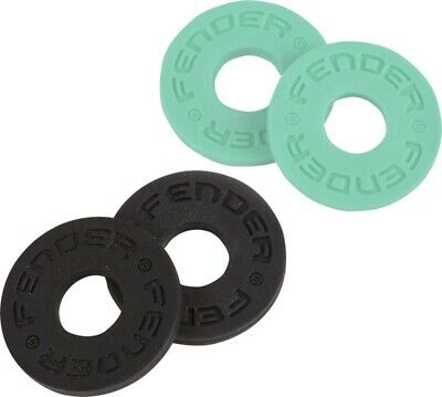 Genuine Fender Strap Blocks Set, 4-Pack, Black (2) Surf Green (2) 099-0819-020 • 4.83£