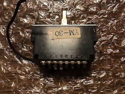 YM-30 Electric Guitar 3 Way Switch For Fender Ibanez Made In Japan Strat Tele • 11.99£