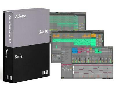 Ableton Live 10 Suite - Upgrade From Standard • 350£