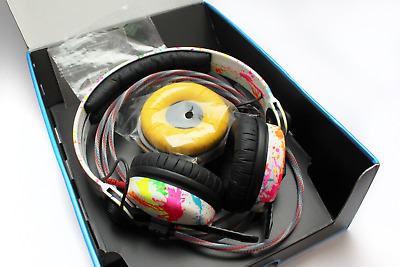 UV Rainbow Limited Sennheiser HD25 Headphones By Custom Cans With Patriot Cable • 230£