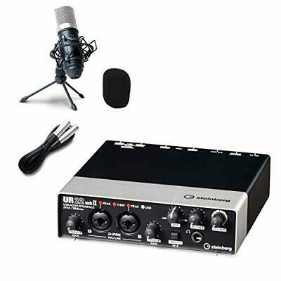 Steinberg UR22mkII Audio Interface UR22Mk2 High-quality Delivery Record Set • 226.55£
