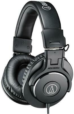 ATH-M30X Audio Technica Headphones , Pro Studio Monitor Black • 74.59£