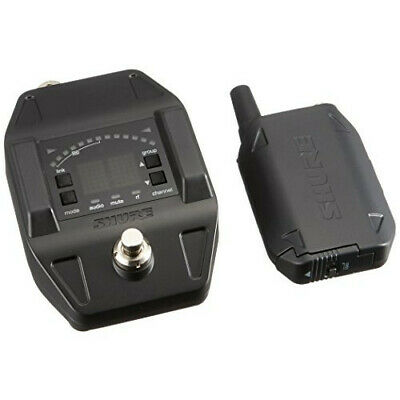 SHURE Wireless System GLX-D Series GLXD6 Guitar Pedal Body Pack Transmit [New!!] • 621.44£