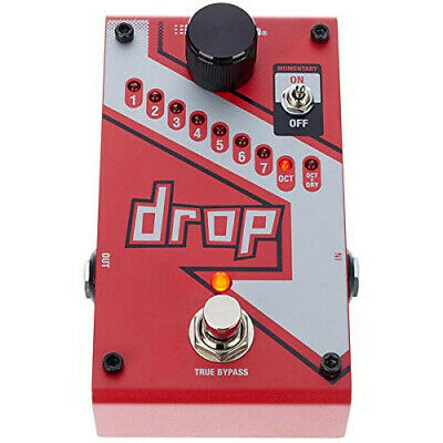 Digitech Digitech The Drop Pitch Shifter  Parallel Imports  [New!!] • 204.49£