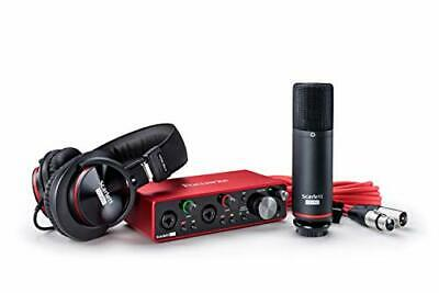 Focusrite Scarlett 2i2 Studio 3rd Gen USB Audio Interface • 276.99£