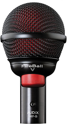 Audix Fireball-V Dynamic Microphone For Harmonicas • 138.64£