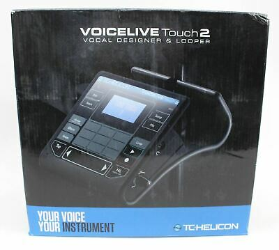 TC HELICON 996358005 VoiceLive Touch 2 Vocal Effects Processor Looper NEW • 559.25£