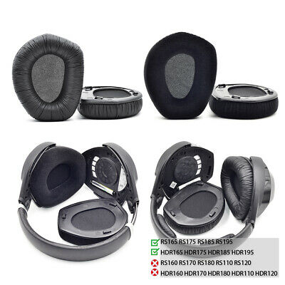 Ear Pads Cushion For Sennheiser RS175 HDR175 RS195 HDR195 RS185 RS165 Headphones • 12.95£