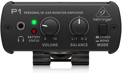 Behringer POWERPLAY P1 Personal In-Ear Monitor Amplifier • 43.29£