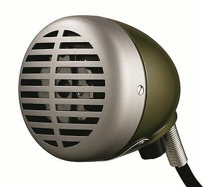 New Shure 520dx Harmonica Microphone Green Bullet Pro.brand New In Box Sale • 86.19£