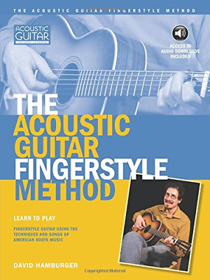 The Acoustic Fingerstyle Method Acoustic Guitar Private Lessons • 25.53£