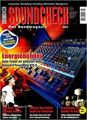 Dynacord Powermate 600-3 IN Test - Do-It-Yourself Recording - Soundcheck • 4.65£
