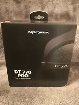 Beyerdynamic DT 770 PRO 80 Ohm Over-the-Head Wired Headphones • 80£