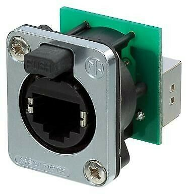 In-Line Adapter, Feed-Through, Cat5e, RJ45, RJ45, Adaptor, EtherCON Series, Jack • 23.13£