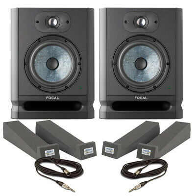 Focal Alpha 65 Evo (Pair) With Isolation Pads & Cables