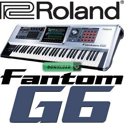 SoundFonts ROLAND FANTOM G6 / G7 / G8 SAMPLE LIBRARY Ableton Live Logic Pro X • 12.90£