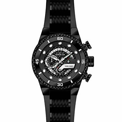 Invicta  S1 Rally 24228  Silicone, Stainless Steel Chronograph  Watch • 94.81£