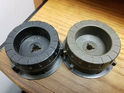 Genuine Teac Tascam TZ-612 NAB Hub Adapters For 1/2  Tape, Pair. Vg Condition • 56.27£
