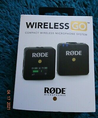 Rode Wireless Go 2.4GHz Microphone System (Black Edition) • 160£
