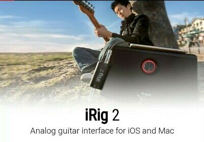 IK Multimedia IRig 2 Guitar Interface For IOS And Android Devices • 23£