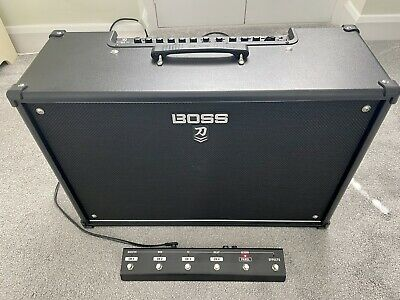 Boss Katana 100 MKII 2x12 Combo Amplifier With GAFC Footswitch • 200£